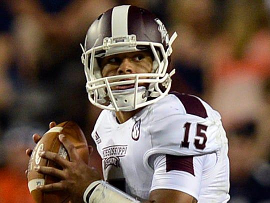 Mississippi State quarterback Dak Prescott's Heisman