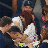 PROPOSAL FAIL: Yankee fan temporarily loses ring
