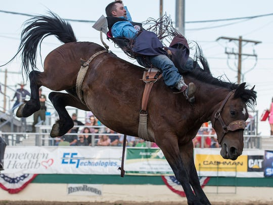 The Reno Rodeo continues through Saturday at the Livestock Events Center