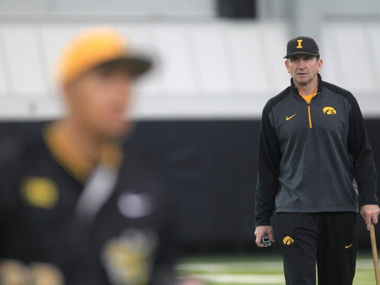 "The No. 23 Hawkeyes inked the Big Ten's top-ranked recruiting class last November. ""I had a lot of support from day one, and we were able to get every kid we wanted to come take a look and listen to what we had to offer,"" Iowa head coach Rick Heller said."
