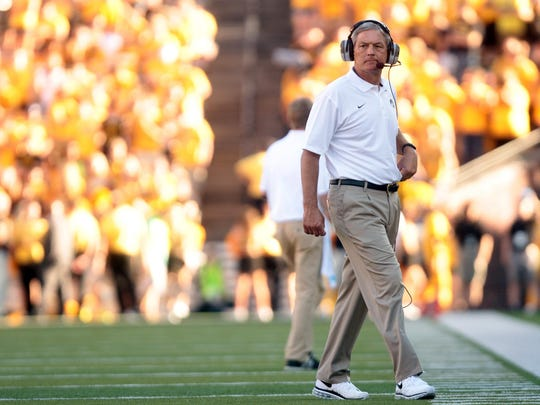 Kirk Ferentz will kick off his 17th season as Iowa's head coach in an 11 a.m. game against Illinois State on Sept. 5.
