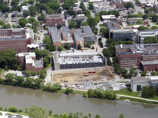 Construction for the University of Iowa's upcoming
