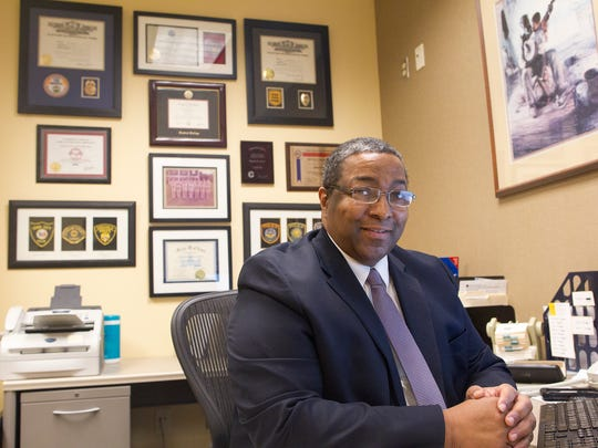 Chuck Green, University of Iowa's public safety director,