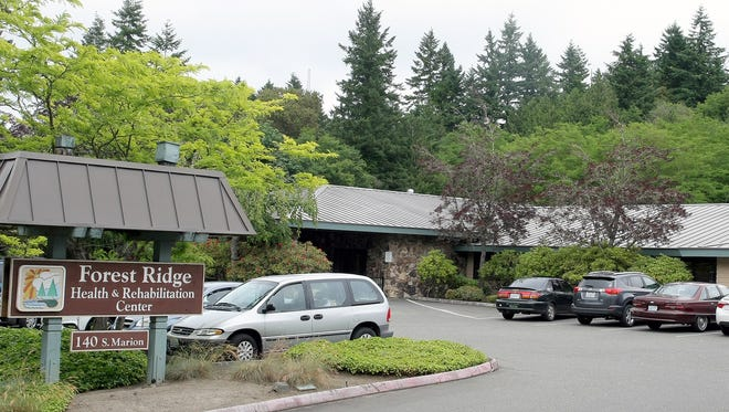 Forest Ridge Health and Rehabilitation Center in West Bremerton was fined $552,000 after a resident walked out of the facility on an October night last year and was found shivering in the parking lot two hours later. The man died later that day.