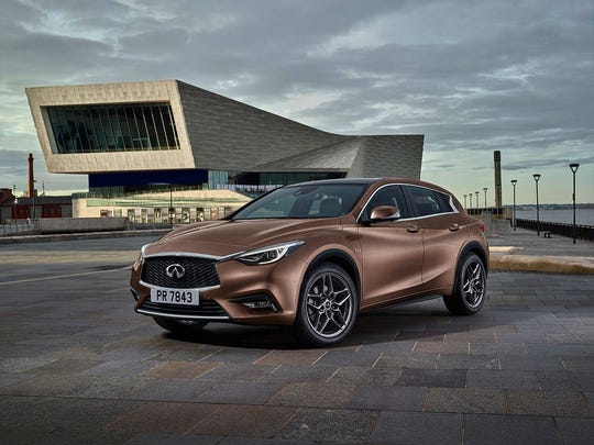The compact Infiniti Q30 aims to compete with cars like the Audi A3 and   Mercedes-Benz CLA.