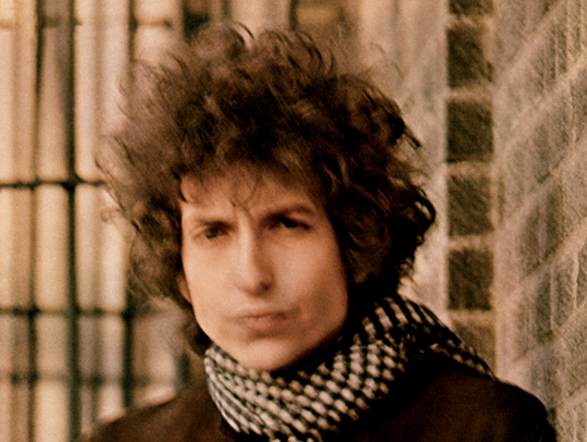 """Bob Dylan's classic """"Blonde on Blonde"""" album (pictured"""