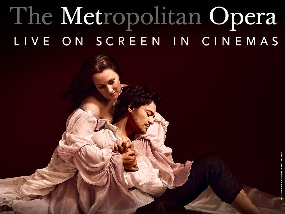 THE MET: LIVE IN HD is happy to present ROMÉO ET JULIETTE