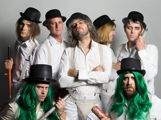 The Flaming Lips will fill Hoyt Sherman with high weirdness on April 22.