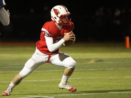 Westwood QB Sean Hopkins is one of the top dual-threat quarterbacks in North Jersey. He'll oppose another one when the Cardinals face David Estevez and River Dell on Saturday.