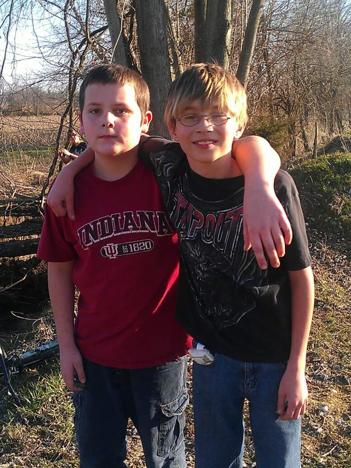 Robert's friend, Cordell, was with him when the accident