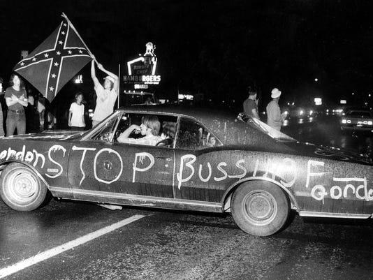 Title: Busing Louisville 1975