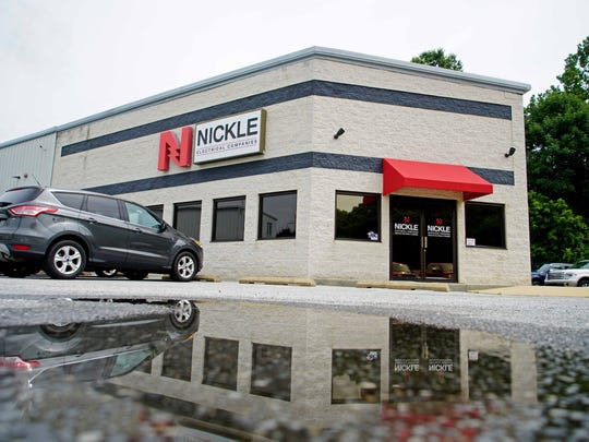 Nickle Electrical Co. in Newark won best leader of a mid-sized company (Steve Dignan) and 3rd in place employees enjoy the most for a mid-sized company. I'll be interviewing Steve Dignan &