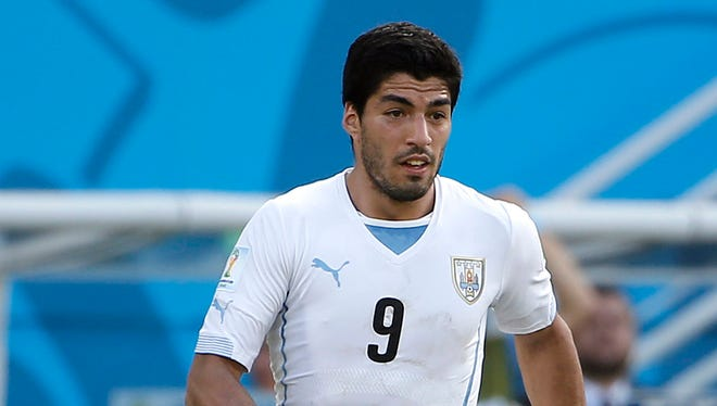Uruguay forward Luis Suarez received a harsh punishment from FIFA for biting an Italian defender.