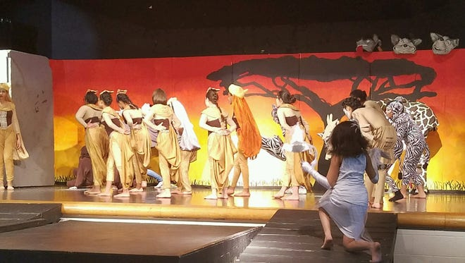 "East Middle School presents ""The Lion King"" this weekend."