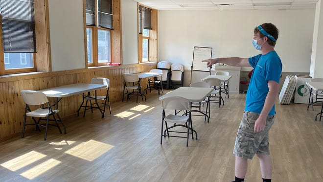 Zach Warrick, a senior programmer at the Laura Richardson Houghton Corning Youth Center, said children ages 8-18 will soon be able to attend the youth center on days they are not attending in-person classes to complete their virtual lessons and homework in a safe place with youth center staff providing a structured format.