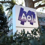 Verizon announces a  $4.4 billion purchase of AOL.