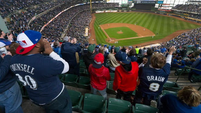 Despite being in a small market, the Milwaukee Brewers are in the top 10 in attendance this season.