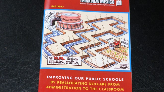 """Think New Mexico issued its report, """"Improving Our Schools by Reallocating Dollars from Administration to the Classroom,"""" on Oct. 8."""