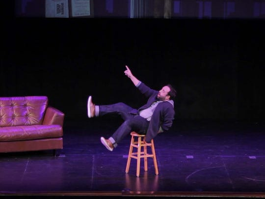 """Josh Hyman stars in """"Men Are From Mars — Women Are From Venus Live!"""" this weekend at City Theatre."""