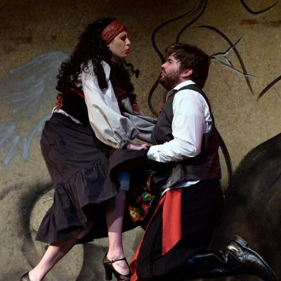 Tri-Cities Opera's 'Tragedy of Carmen' strips down classic story for Binghamton production