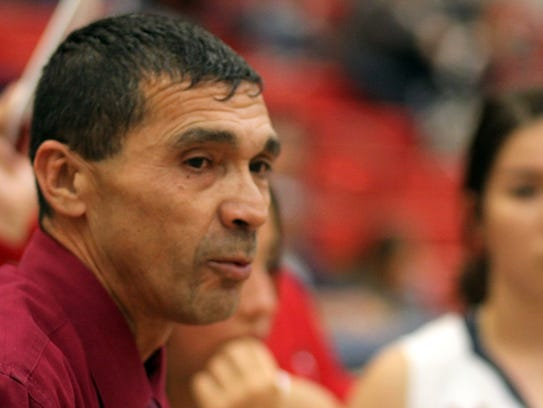 Lady Cats Head Basketball Coach Vincent Orzoco reminded