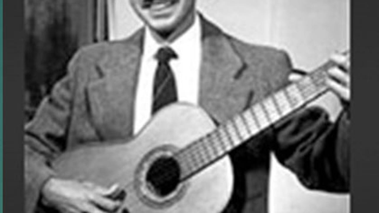 """Américo Paredes, folklorist and scholar, was a professor at the University of Texas at Austin who introduced the musical folklore of the border to the halls of academia. He taught from an extensive repertoire of ballads that the México-Tejano people called """"corridos."""""""
