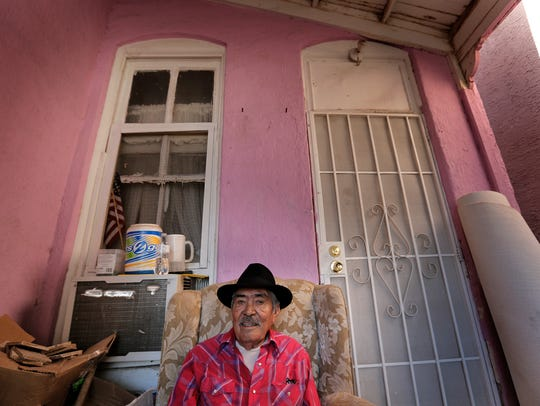 Victor Romero, who has lived in his home on Chihuahua