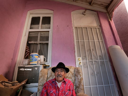 Victor Romero, who has lived in his home on Chihuahua Street in Downtown El Paso for 14 years, would likely have to move if a multipurpose arena is built in his neighborhood, as city officials have proposed.