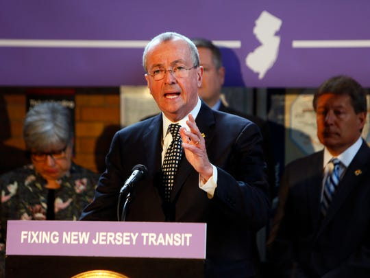 Gov. Phil Murphy speaks last month about fixes needed at NJ Transit. His first budget targets some long-starved areas, including the agency and public school funding, and no doubt will face little opposition in the Democratic-controlled Legislature.