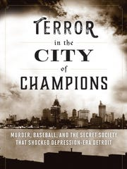 """Book cover for """"Terror in the City of Champions,"""" by Tom Stanton."""