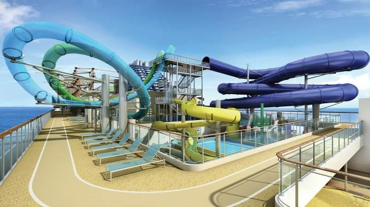 New cruise ship to have giant water park