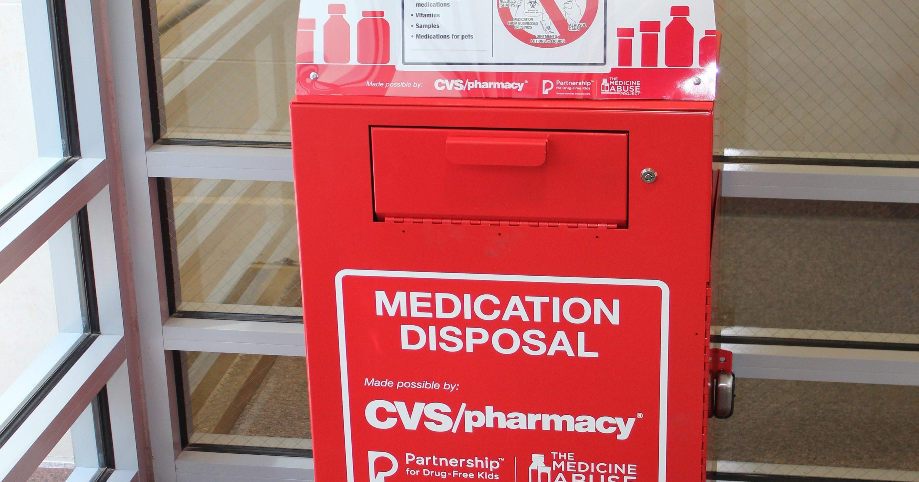 sheriff s office gets drug drop box