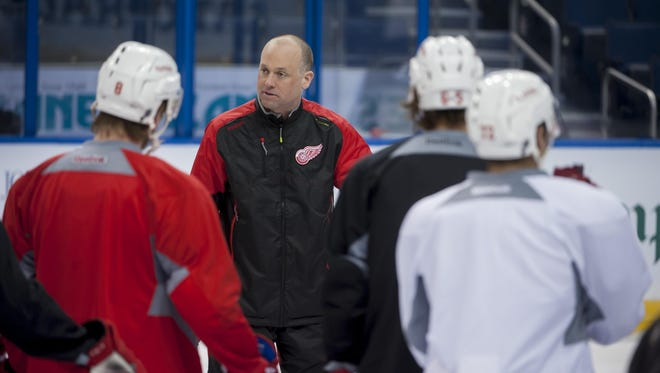 With prospects for improving the roster difficult, Wings coach Jeff Blashill might have to make the most of what he has for awhile.