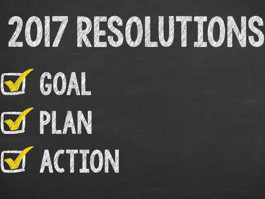 New Year 2017 Resolution Check List