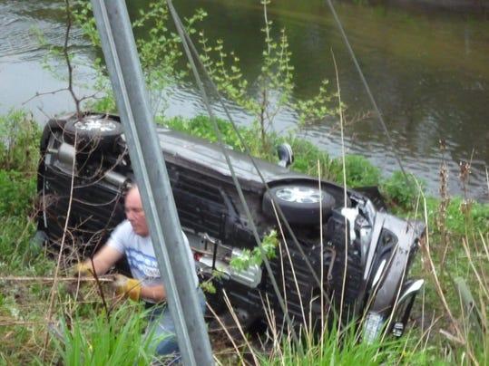 Harrison embankment plunge