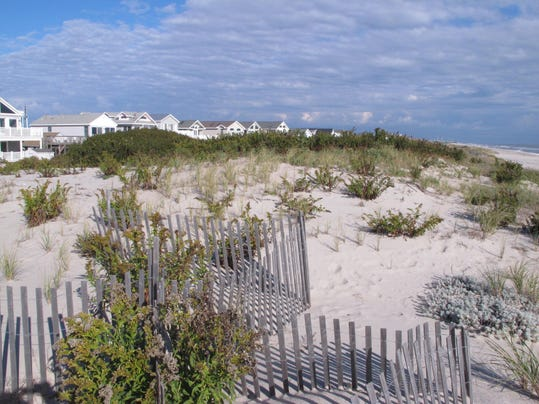 This Oct 26 2017 Photo Shows The 25 Foot Tall Dunes Protecting Homes In Midway Beach Section Of Berkeley Township N J On Friday Dec
