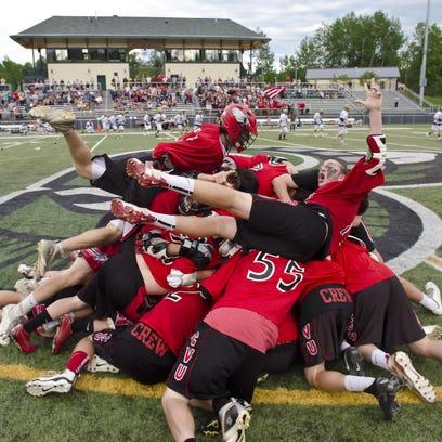 The Champlain Valley Union High School boys lacrosse