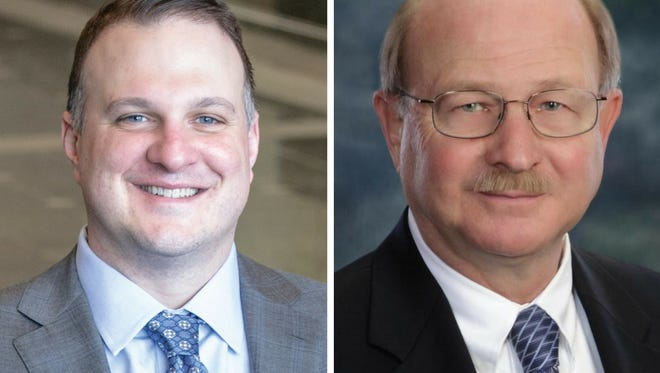 Matt Hall faces incumbent David Maturen in the Republican Primary race for the 63rd District state representative.