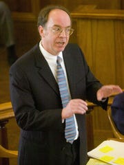 Defense attorney William Easton argues a point in court during the 2007 trial.