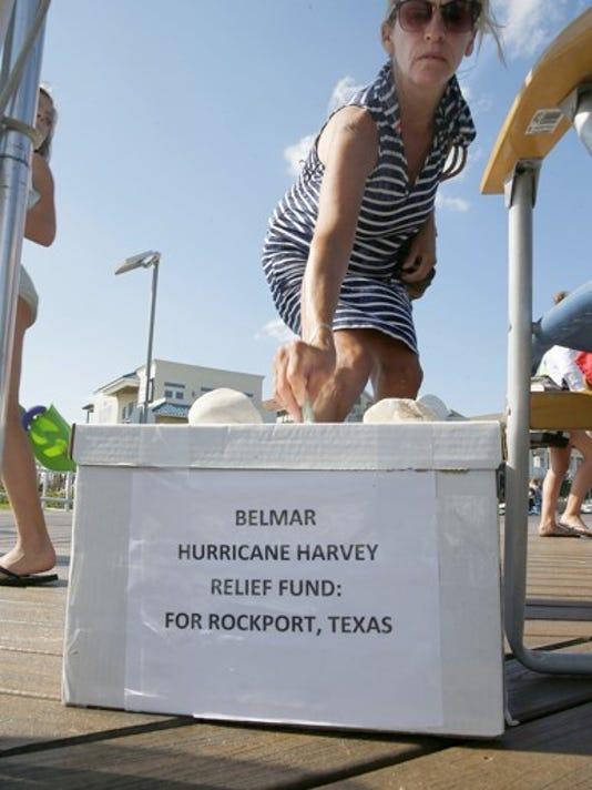 Belmar's Harvey relief