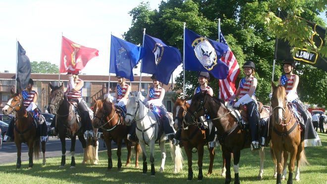 The NKY horse drill team was invited to perform at the inaugural parade in Washington D.C. Jan. 20, 2017.