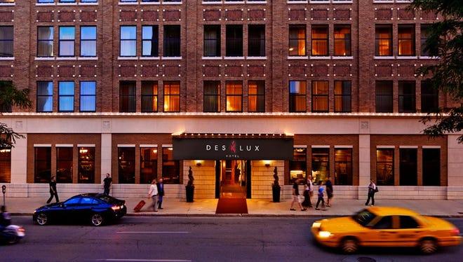 The Suites of 800 Locust has been renamed Des Lux Hotel.