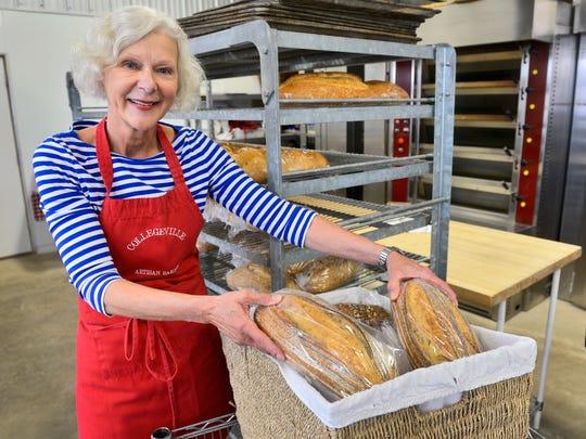 Collegeville Artisan Bakery owner Mary Ann Friedrichs