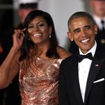 The Obamas let their hair down for their last state dinner