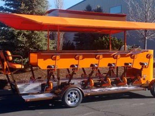 Trolley bike