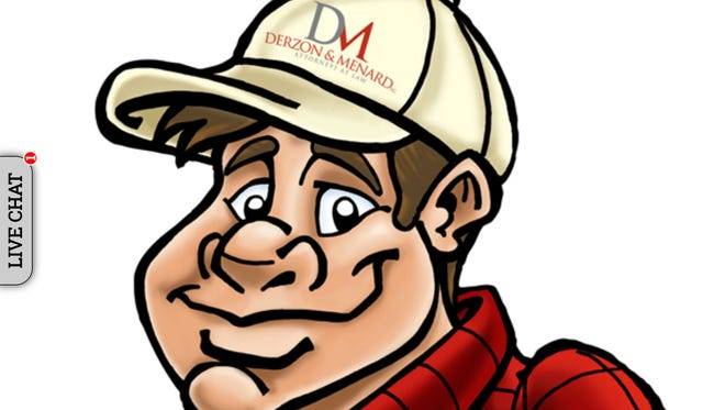 Joe Bob, a cartoon character who had been used to advertise the Derzon & Menard law firm, can now be found on the web page for Menard & Menard, albeit still wearing his Derzon & Menard baseball hat.