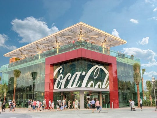 Coca-Cola store in Disney Springs Orlando