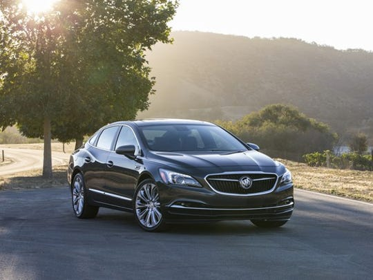 Sales of the handsome Buick LaCrosse sedan have been slow for months, but jumped in February.