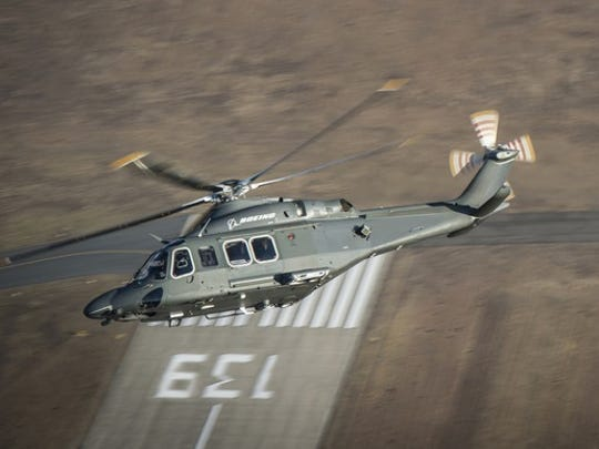 The MH-139 helicopter