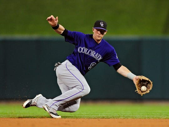 The Rockies' DJ LeMahieu hit .310 and scored 95 runs